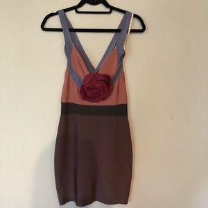 Herve Leger dress.  So flattering and feminine